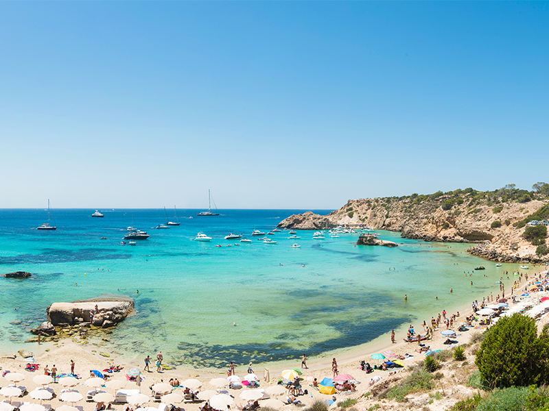 Five beaches to visit in Ibiza